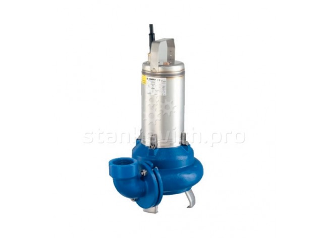 Насос канализационный погружной для илистых и сточных вод Lowara DL105 3х400V 1100W