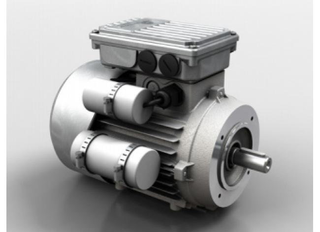 Однофазный электродвигатель с высоким пусковым моментом Motovario серия S/HSE