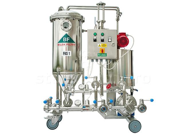Свечной кизельгуровый фильтр FKS 1 для пивзаводов