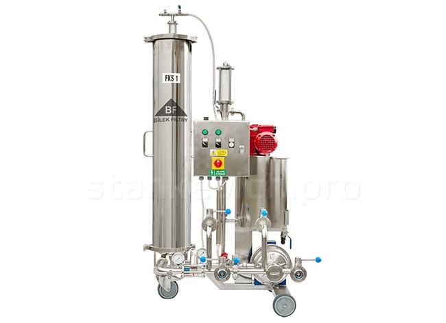 Свечной кизельгуровый фильтр FKS 1 для винзаводов