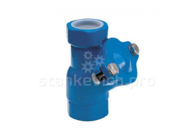 Клапан обратный шаровой муфтовый Lowara DN40 PN10 G1 1/2