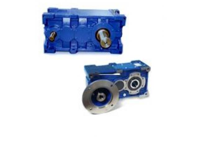 Цилиндрический редуктор STM серия RXP
