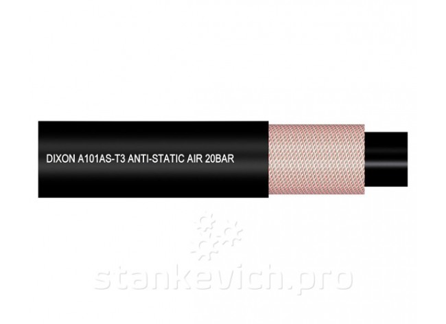 Рукав для воздуха/воды Dixon A101AS-T3 Anti-Static 20 Bar